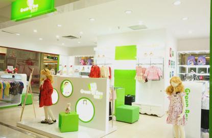 绿盒子童装旗舰店|绿盒子童装加盟