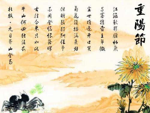 关于重阳节诗句 古诗|关于重阳节诗句 重阳节的诗句