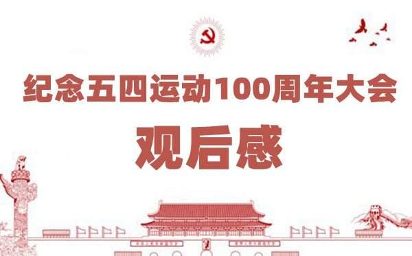 五四运动100周年大会观后感3篇